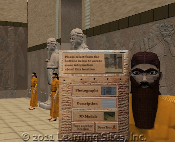 Northwest Palace, Nimrud, virtual guide